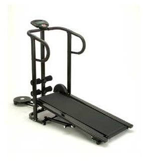 Life Power 3 Function Manual Treadmill, Black [LP-8268-3]